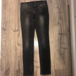 Jessica Simpson Forever Skinny Faded Black Jeans